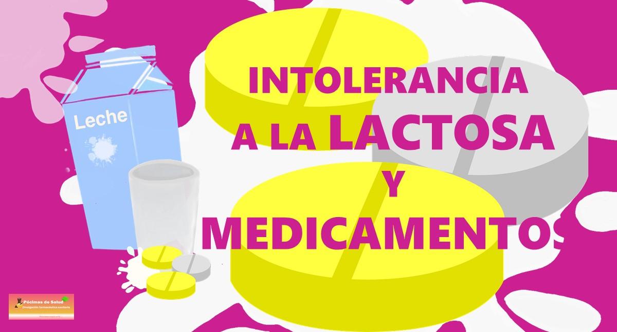 LACTOSA MEDICAMENTOS