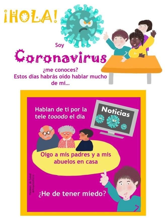Manual coronavirus para niños